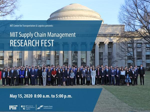 MIT SCM Research Fest 2020 event card