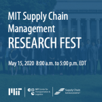 MIT SCM Research Fest thmb